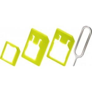 SIM-kaardi adapterite komplekt, roheline