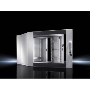 Seinakapp EL 3-osaline 345x600x473mm k,l,s 6U klaasuks IP55