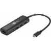 USB 3.1 hub: USB C - 4 porti USB 3.0 A 0.2m, must