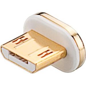 Asendus Micro B magnetkonnektor WEN40912 kaablile, kuld/hõbe