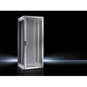 Seadmekapp TE8000 RAL7035 WHD 800x2000x1000 42U perforeeritud uksed