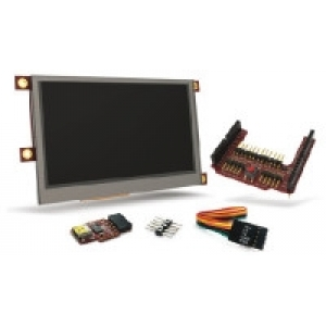 4.3in. TFT LCD Starter Kit for Arduino
