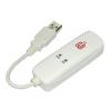 Võrgukaart: USB 2.0 - RJ11 telefon / Internet / faks modem