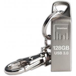 Mälupulk 128GB USB 3.0 võtmehoidja, metall