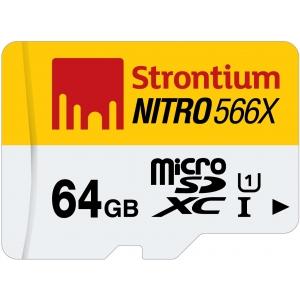 Mälukaart Nitro Micro SDXC 64GB, Class1...