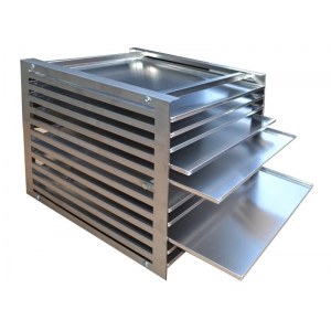 TRAY HOLDER - Aluminium tray 530 x 530 x 12mm