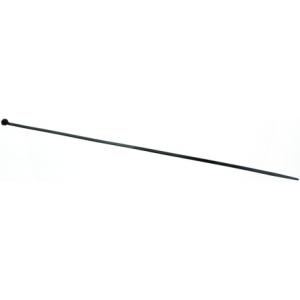 Kaablisidemed 380 x 7.6 mm mustad ilmastikukindlad 100tk/pk