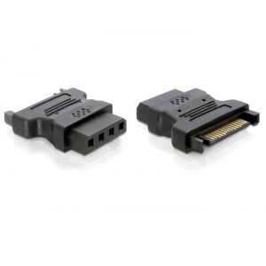 Adapter Sata 15 pin (M) - IDE 4 pin (F)