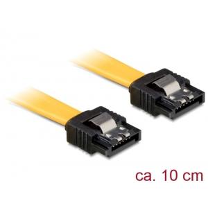 SATA kaabel, 0.1m, (SATA 1.5GBs / 3GBs / 6GBs)
