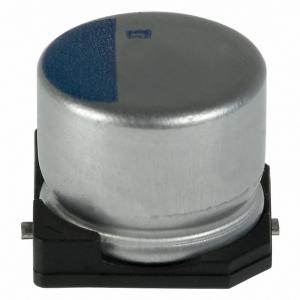 Polümeer kondensaator 82uF 6.3V 105°C 6.3x5.2mm SMD
