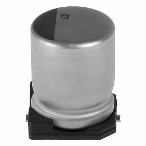 Polümeer kondensaator 82uF 6.3V 105°C 6.3x5.7mm SMD