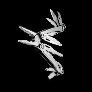 Multitööriist Leatherman SIDEKICK, hõbe, must nailonvutlar M