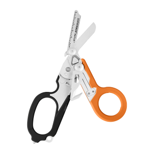832158 Käärid Leatherman RAPTOR, 6 tööriista, must-oranž, molle hoidik