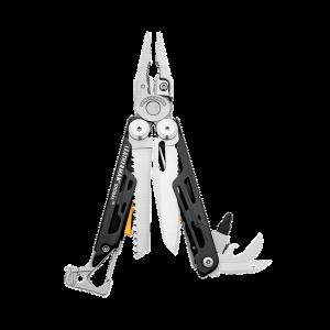 Multitööriist Leatherman Signal, 19 tööriista, hõbe, must nailonvutlar L