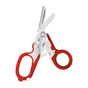 832338 Käärid Leatherman RAPTOR, 6 tööriista, punane, molle hoidik
