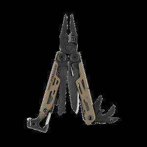 Multitööriist Leatherman Signal, 19 tööriista, värvus koiott, must nailonvutlar L