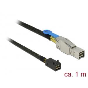 Mini SAS kaabel 1.0m (HD SFF-8644 - SFF-8643)