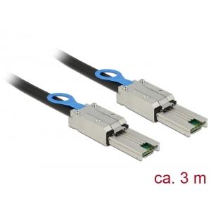 Mini SAS kaabel 3.0m (SFF-8088 - SFF-8088)