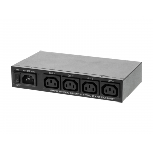 Toitepaneel 4PS 4x C13 väljundiga