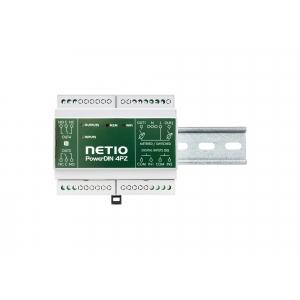 Elektriarvesti releeväljundiga 2-kanaliline + 2x DI, 2x toiterelee, 110 / 230V max 16A
