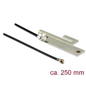 WLAN Antenn 3 dBi MMHF IV/ HSC MXHP32 pistik, b/g/n, 250mm internal PIFA