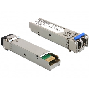 Mini-GBIC (SFP) Single-Mode 1000Base-LX Moodul 1310nm / 20km (LC Duplex)
