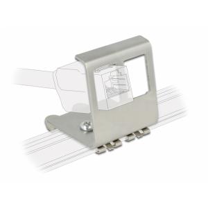 Keystone kinnitus 2 port DIN-liistule