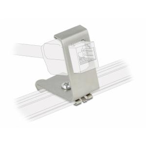 Keystone kinnitus 1 port DIN-liistule