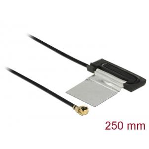 WLAN Antenn 2 dBi MHF /UF.LP-068 ühilduv otsik 802.11 ac/a/h/b/g/n CCD 250 mm PCB Internal ise kleepuv