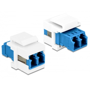 Keystone moodul: LC Duplex F / F, Singlemode
