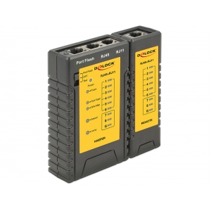 Arvutivõrgu kaabli tester RJ45/RJ12 + portfinder