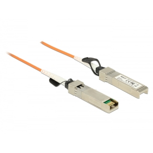 SFP+ kaabel 7m, 10-Gigabit Ethernet, oranž (Optical)
