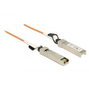 SFP+ kaabel 10m, 10-Gigabit Ethernet, oranž (Optical)