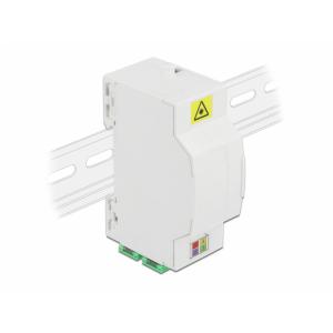 FO karp DIN latile 4 kiudu 4xSC Simplex või LC Duplex plastik