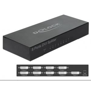 DVI splitter, 8 porti, 1080p