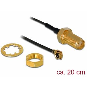 Üleminek antennile SMA - MHF I 1.13, 20cm, 10mm keermega