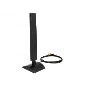 Ringantenn: 4 - 6 dBi, ac/a/b/g/n 2.4/5GHz, sise -ja välitingimustele, magnetalusega, rp-sma