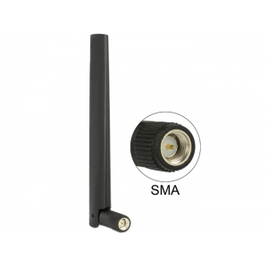 Ringantenn: 1-4.3 dBi LTE, GSM, UMTS, b/g/n 2.4GHz sisetingimustele, sma