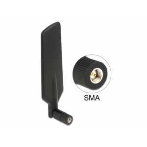 Ringantenn: 0.5-3 dBi LTE, GSM, UMTS, bluetooth, b/g/n 2.4GHz sisetingimustele, sma