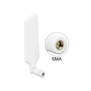 Ringantenn: 0.8-4 dBi LTE, GSM, UMTS, bluetooth, b/g/n 2.4GHz sisetingimustele, sma