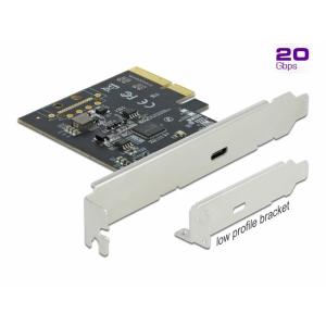 USB 3.2 laienduskaart: PCI, 1 x USB-C 3.2 Superspeed 20 Gbps