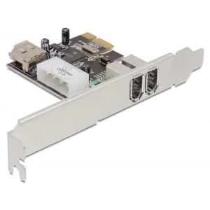 Laienduskaart: PCIe x1, 2 x FireWire 1394a välist porti, 1 x FireWire 1394a sisemine port
