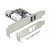 PCI Express kaart, 2 x FireWire 1394a välist porti, 1 x FireWire 1394a sisemine port (Low profile komplektis)