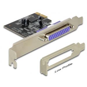 Laienduskaart: PCIe x1, 1 x Parallel DB25