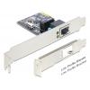 Võrgukaart: PCIe x1, 1 x Gigabit RJ45 (Standard + Low Profile)