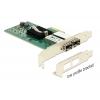 Võrgukaart: PCIe x4, 2 x Gigabit SFP - Intel 82580DB (Standard + Low Profile)