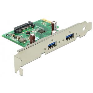 Laienduskaart: PCIe x1, 2 x USB 3.0