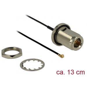 Üleminek antennile N - MHF I, 1.13, 13cm, 22mm keermega