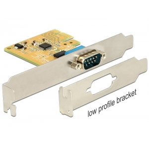 Laienduskaart: PCIe x1, 1 x Serial RS-232 DB9