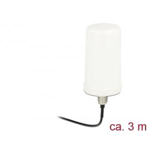 Ringantenn: 0 dBi ac/a/h/b/g/n 2.4/5GHz, välitingimustele, rp-sma